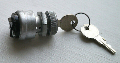 Keyed Ignition Switch, 2-position Off-On POLLAK 31602 with 2 keys Free Shipping