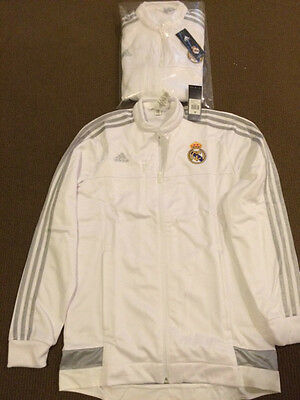 REAL MADRID OFFICIAL JACKET NEW WITH TAGS SIZE medium