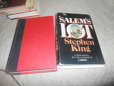 Stephen King Salem's Lot book 1975