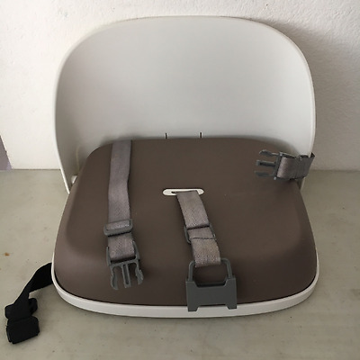 Pre-owned OXO Tot Perch Booster Seat with Straps, Taupe