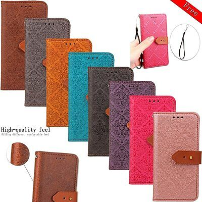 Luxury Business Leather Flip Wallet Card Photo New Stand Cover Case For LG G3 G5