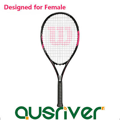 113sq.in Tennis Racquet Wilson Hope Lite for Ladies Women Beginners 4 1/4 Grip