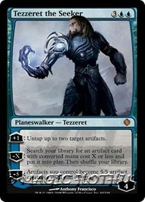 TEZZERET THE SEEKER Shards of Alara MTG Blue Planeswalker MYTHIC RARE