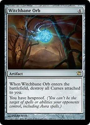 WITCHBANE ORB Innistrad MTG Artifact RARE