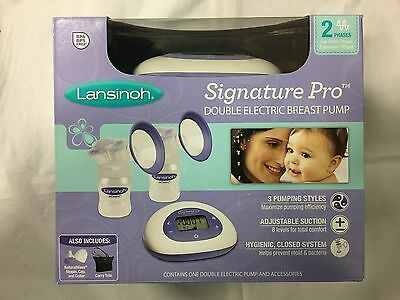 Lansinoh Signature Pro Double Electric Breast pump Brand New Sealed
