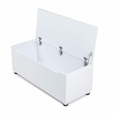 Storage chest trunk blanket box with soft close lid