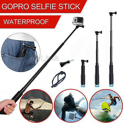 Waterproof Handheld Monopod Tripod Selfie Stick Pole for Camer Gopro Hero 2 3 4
