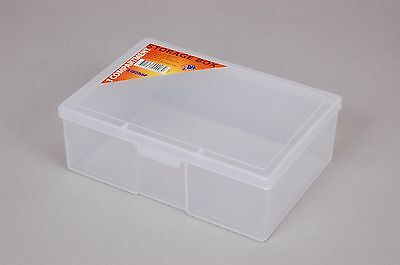 1 Compartment Plastic Storage Box Medium - Fischer