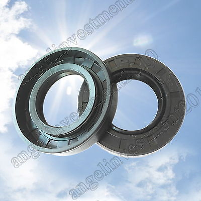 10pcs NBR skeleton oil seal Sealing ring TC6×12 15 16 17 18 19 22 25 26 34 35