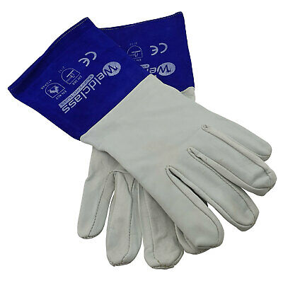 Weldclass Platinum Soft Skin Tig Welders Gloves - Kevlar Stitched - TIG - Plasma