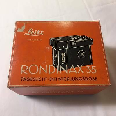 Leitz-Rondinax 35 Daylight Developing Tank Complete with Box