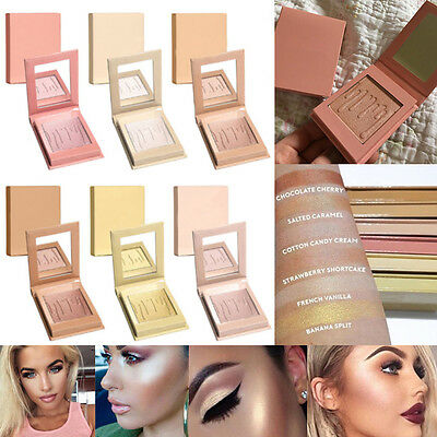 6Color Fashion Contour Powder Highlighter Repair Light High Cosmetic Matte Look
