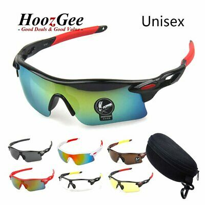Gent Mens Cycling Bicycle Bike Outdoor Sports Goggles Fishing Driving Sunglasses