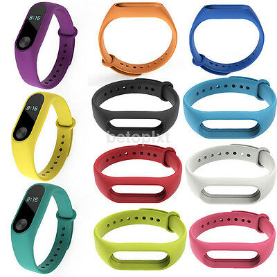 For Xiaomi Mi Band 2 Smart Bracelet Replacement Silicone Wrist Watch Band Straps