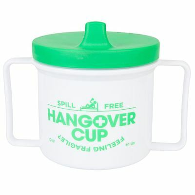 Hangover Leakproof Sippy Cup Large Adult Sized Holds 1 Litre