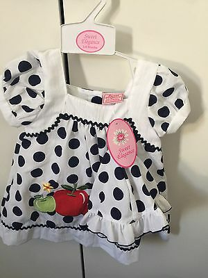 BNWT Spanish Style Baby Girl Outfit 3-6 Months