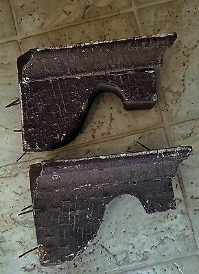 Antique  Old Wood  House Porch Corbels Shelf Brackets Old Paint  1871  house