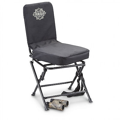 Swivel Hunting Blind Chair Comfortable Top Quality Lightweight Up To 300lbs