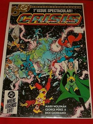 Crisis Infinite Earths 1-12 Dc Comic Set Complete Death Flash Supergirl 1985 Nm