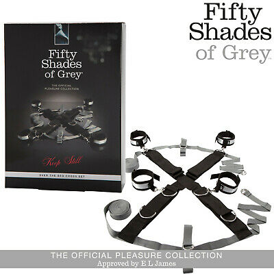 Cinghie da letto Over the bed cross set Fifty Shades of Grey bondage e BDSM