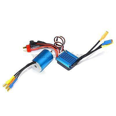 4800KV Sensorless Brushless Motor+25A Brushless ESC für 1/16 1/18 RC Car