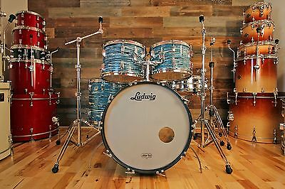 Ludwig Classc 1970 Drum Kit Finished In Bowling Ball