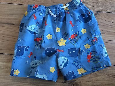 Baby Boys Swim / Beach Shorts 12-18 Months
