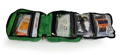 165 Piece Premium 2 in 1 First Aid Kit For Home, Office, Car, Caravan, Travel