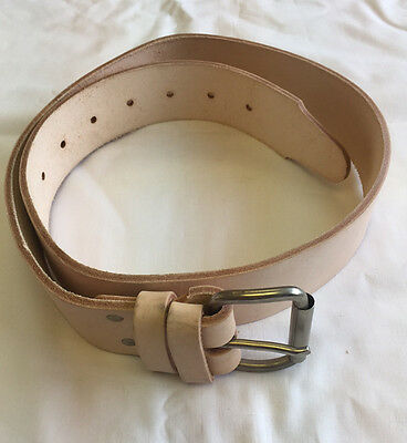 "New Q Tools Scaffold 50"" Leather Belt - Latest Design - Great Value"
