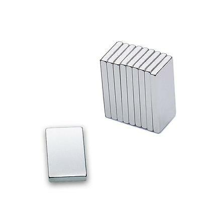 EXTREMELY STRONG RECTANGULAR MAGNET - 20 x 10 x 2mm - NEW