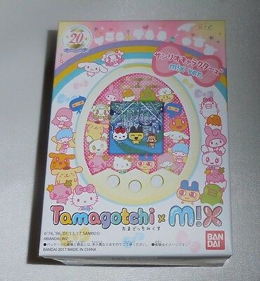 BANDAI Tamagotchi m! X Sanrio Characters m!x ver Hello kitty with Tracking