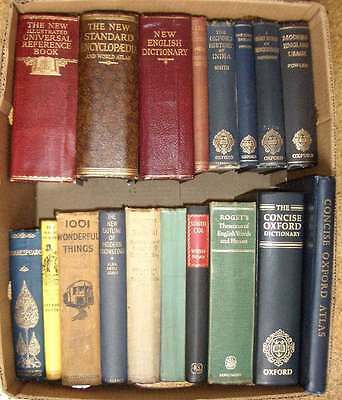 Joblot of 18 old & vintage hardcover non-fiction books