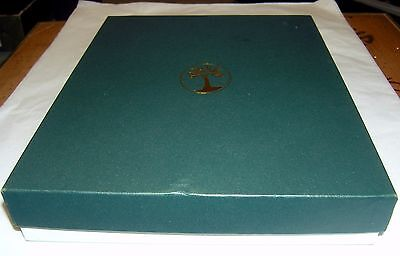 Levenger leather notebook (stamped alligator)~Vintage but never used~Beautiful!
