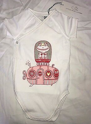 Marc Jacobs Little Mark Jacobs Unisex Toddler Onesie with 2 Bibs Size 9 Months