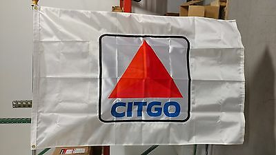 NEW - CITGO GAS OIL 3x5 Flag - Screen Print - Applique - Polygloss