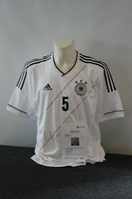 DFB Deutschland Trikot Mats Hummels signiert XL Authentic Version
