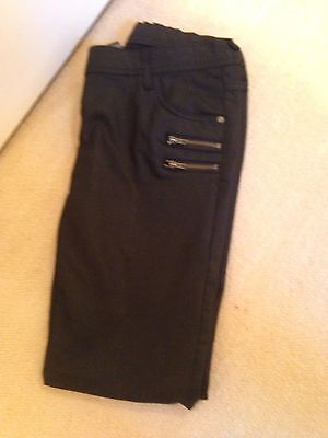 Girls Jeans Black Age 13/14