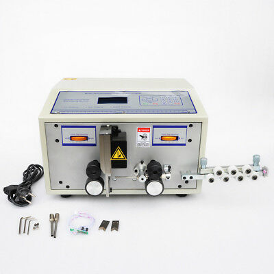 MT88 220V Automatic Computer Wire Peeling Stripping Cutting Machine 0.1-2.5mm²