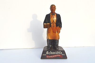 Original Schmidt's Beer Bar Straw/Glass Holder Advertising Pub Philadelphia Ale