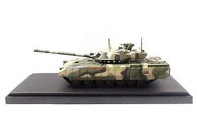 New 1/72 Diecast Tank Russian T-14 Armata Camouflage with Case Modern Military