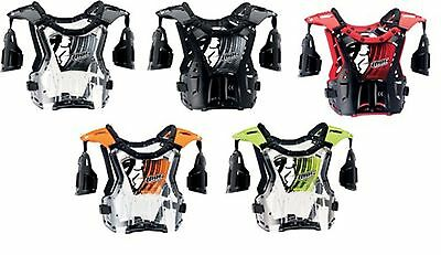 Chest Protector New Child / Youth Thor Quadrant MX Dirt Bike ATV Offroad Guard