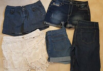 Lot 5 pairs Women's Size 14 Shorts Simply Vera +more