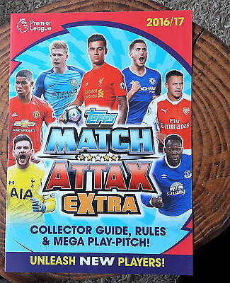 2016/17 Match Attax Extra complete set of 10 magic moments cards