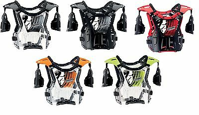 Chest Protector New Adult Size Thor Quadrant MX Dirt Bike ATV Offroad Guard