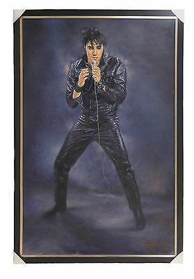 Elvis Presley - Original OS Painting - Pierre Gosselin - If I can dream