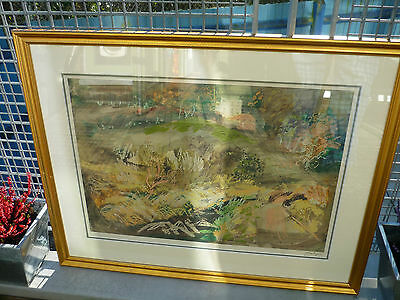 John Piper signed Lithograph 'Llangloffan' signed in pencil, edition of 750