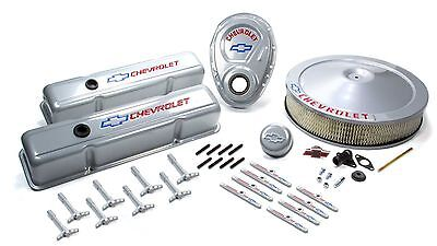 Proform  SB Chevy 1958-86 Metallic Gray Engine Dress Up Kit 141-360