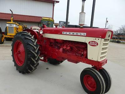 1960 Ih Farmall 560 Diesel Row Crop Tractor For Sale Repainted New Tires