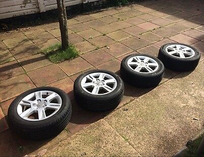 Audi A3 16 Inch Alloy Wheels and Tyres