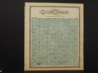 South Dakota Brown County Map Garden Prairie Township  1911    L8#83